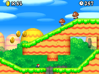 World 1-4 from New Super Mario Bros..