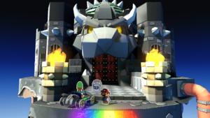 Black Bowser's Castle from Paper Mario: Color Splash