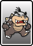 The fully painted Morton Card in Paper Mario: Color Splash.