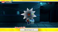 MAX UP Heart +5 from Water Vellumental Shrine in Paper Mario: The Origami King