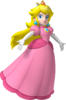 Artwork of Princess Peach for Mario Party 8 (Reused in Super Mario Galaxy and Super Mario Run)