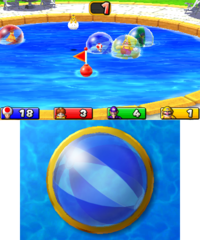 Pool Buoy from Mario Party: Island Tour