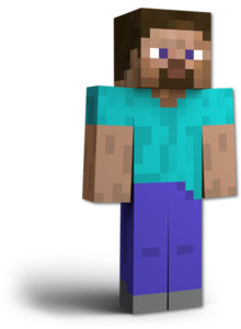 Artwork of Steve from Super Smash Bros. Ultimate