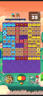 Stage 575 from Dr. Mario World