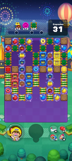 Stage 670 from Dr. Mario World