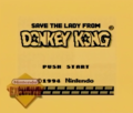 Game Boy Save The Lady From Donkey Kong Title Screen.png