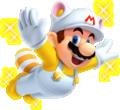 Invincibility Raccoon Mario New Super Mario Bros. 2.png