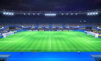 Kingdom Stadium (Night) from Mario Sports Superstars