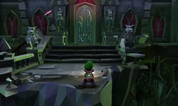The Veranda in Treacherous Mansion