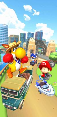 The September 2021 Sydney Tour from Mario Kart Tour