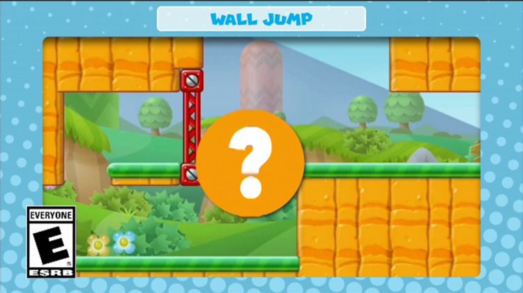 A frame of the video shown with the sixth question in Mini Mario & Friends: amiibo Challenge Trivia Quiz
