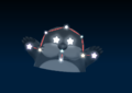Monty Mole's constellation in the game Mario Party 9.