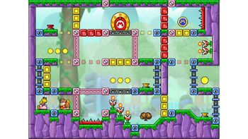 Miiverse screenshot of the 78th official level in the online community of Mario vs. Donkey Kong: Tipping Stars