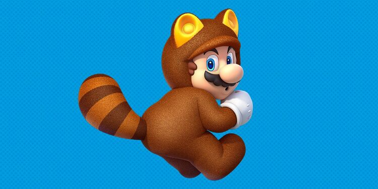 Picture shown with a question in Super Mario 3D World Power-Up Quiz: Throw Fireballs