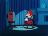 Mario playing his Family Computer.