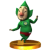 Tingle trophy from SSB3DS