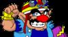 Wario Sprite from WarioWare, Inc.: Mega Microgame$!
