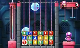 Using an amiibo in Boo's Block Party from Mario Party: Star Rush