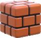 Brick Block artwork from Super Mario 3D World.