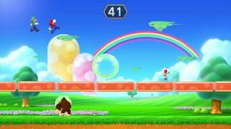 Bubble Squabble, from Mario Party 10.