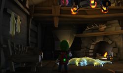 The Chalet segment from Luigi's Mansion: Dark Moon.