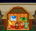 Donkey Kong's Present Room from Mario Party 4
