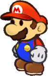 Doopliss after taking Mario's form