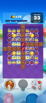 Stage 166 from Dr. Mario World since March 18, 2021