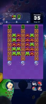 Stage 281 from Dr. Mario World since March 18, 2021