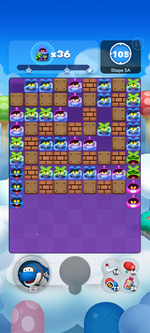 Stage 5A from Dr. Mario World
