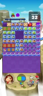 Stage 854 from Dr. Mario World