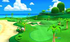 Hole 1 of the Seaside Course