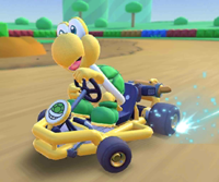 The icon of the Luigi Cup challenge from the 2021 Paris Tour in Mario Kart Tour.