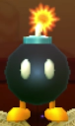 Bob-omb as viewed in the Character Museum from Mario Party: Star Rush