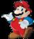 Mario, as shown in The Super Mario Bros. Super Show!