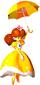 Princess Daisy playing Parasol Plummet