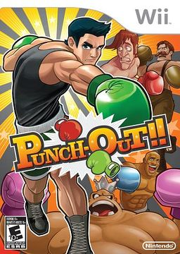 Box art for Punch-Out!! for the Wii