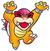 Super Mario Bros. 3: Artwork of Roy Koopa