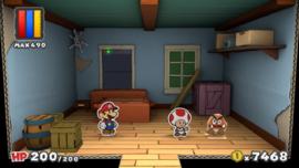 Action Command Dojo from Paper Mario: Color Splash