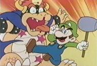 Luigi fighting Koopa.