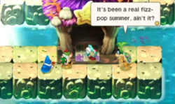 """An image of the Bowser Jr.'s Journey level, """"Adrift and Alone""""."""