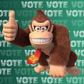 Option in a Play Nintendo poll on which Nintendo character could be class president. Original filename: <tt>1x1-BTS_18_poll_2_h.6ef5f3152e16d0ba.jpg</tt>
