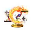 Critical Hit trophy from Super Smash Bros. for Wii U