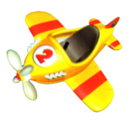 A Plane from Diddy Kong Racing.