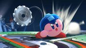 Kirby with Mega Man's ability