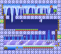 Level 4-8 map in the game Mario & Wario.