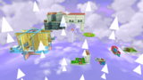 """A screenshot of Flipsville Galaxy during the """"Flip-Flopping in Flipsville"""" mission from Super Mario Galaxy 2."""