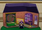 Waluigi's Present Room from Mario Party 4