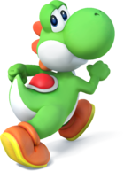 Yoshi in Super Smash Bros. for Nintendo 3DS / Wii U.