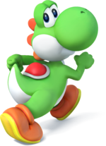 Yoshi in Super Smash Bros. for Nintendo 3DS / Wii U.